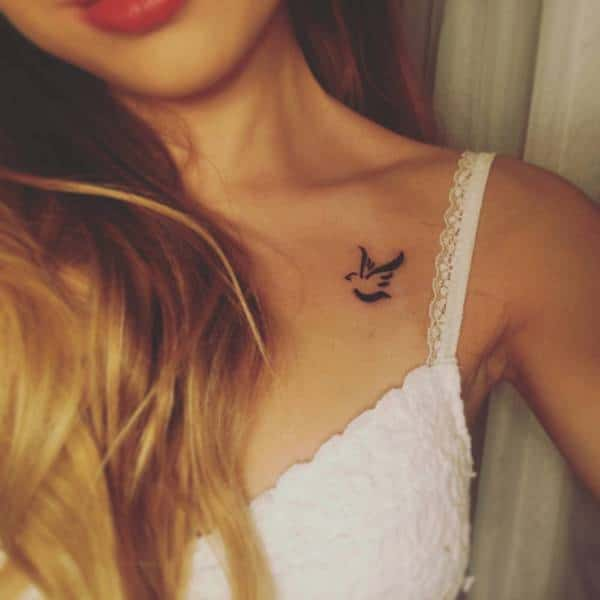 Collarbone Tattoos 100 Designs That Look Great On Both Men And Women
