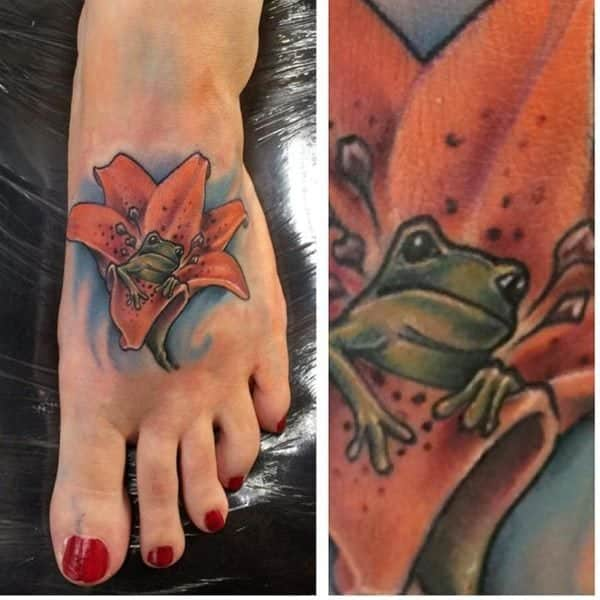 138 Awesome Foot Tattoo Inspirations To Add Spring To Your Step