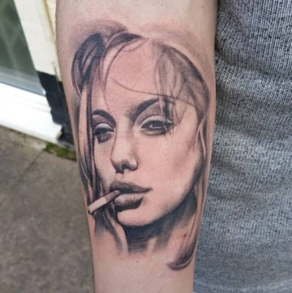 Tattoos intrupted