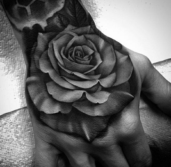 9b0e346da21b0 130+ Best Hand Tattoos That Don't Go out of Style