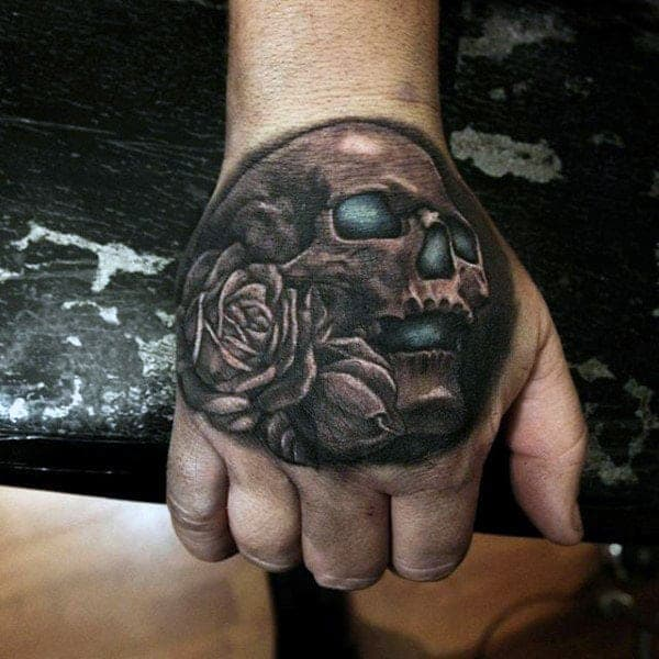 3f3784200e415 130+ Best Hand Tattoos That Don't Go out of Style