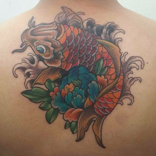 175 Best Japanese Koi Fish Tattoos And Their Meaning
