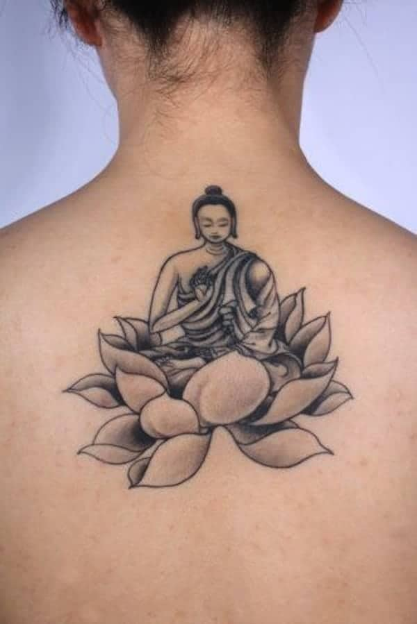 155 Trendy Lotus Flower Tattoos That You Dont Want To Miss
