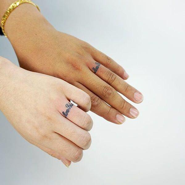225 Wedding Ring Tattoos For 2019