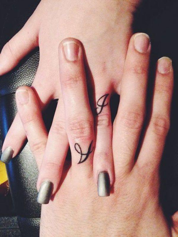 225+ Wedding Ring Tattoos for 2019