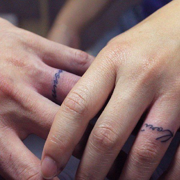 225 Wedding Ring Tattoos For 2019