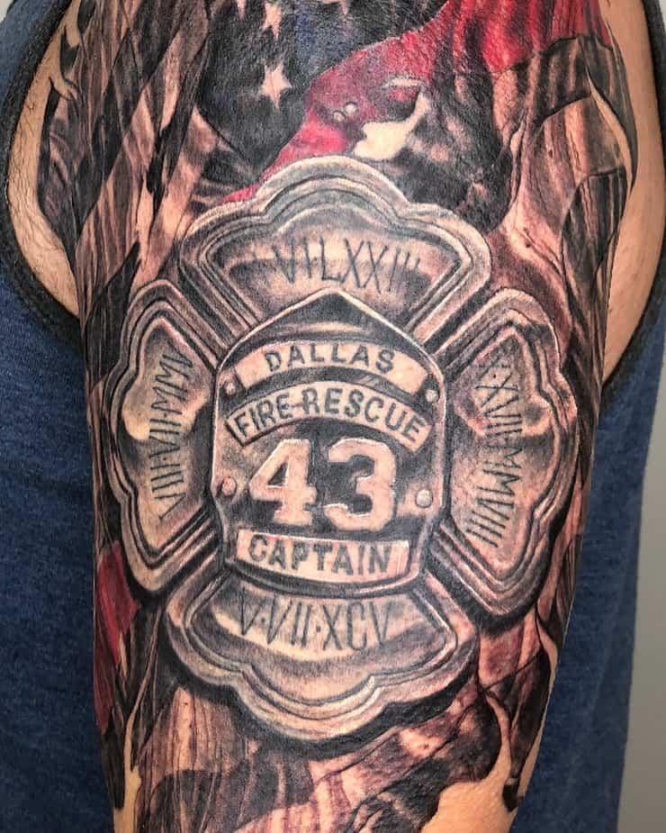 83 Red Hot Fire Tattoo Designs