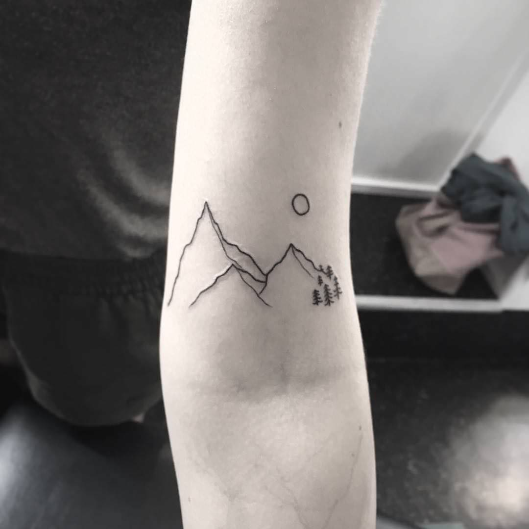 108 Mountain Tattoo Designs That Will Take You To The