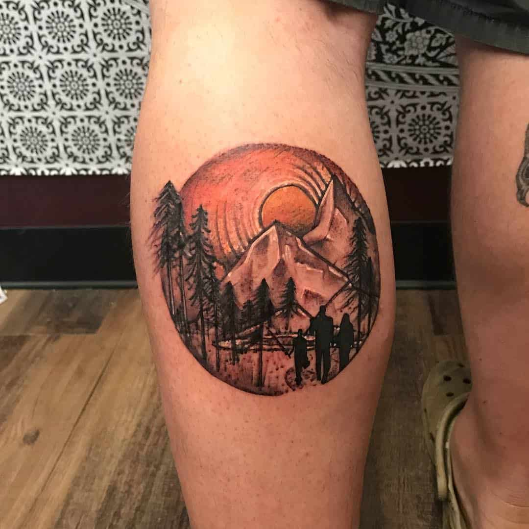 108 Mountain Tattoo Designs That Will Take You To The Highest Peaks