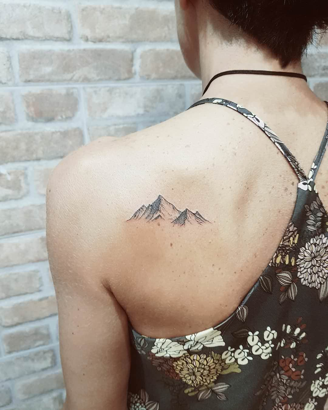 608377e91 108 Mountain Tattoo Designs That Will Take You to the Highest Peaks