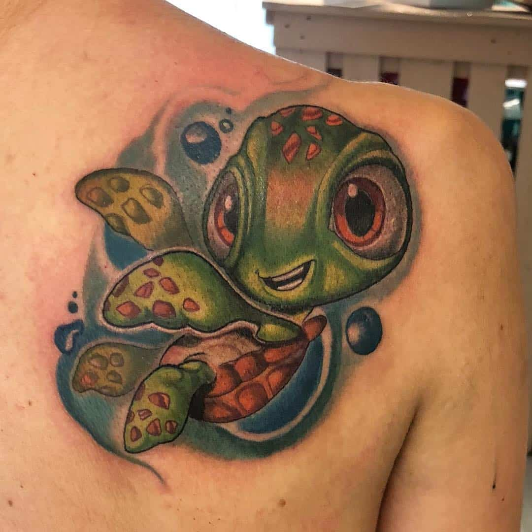 79 Turtle Tattoo Designs That Make A Splash
