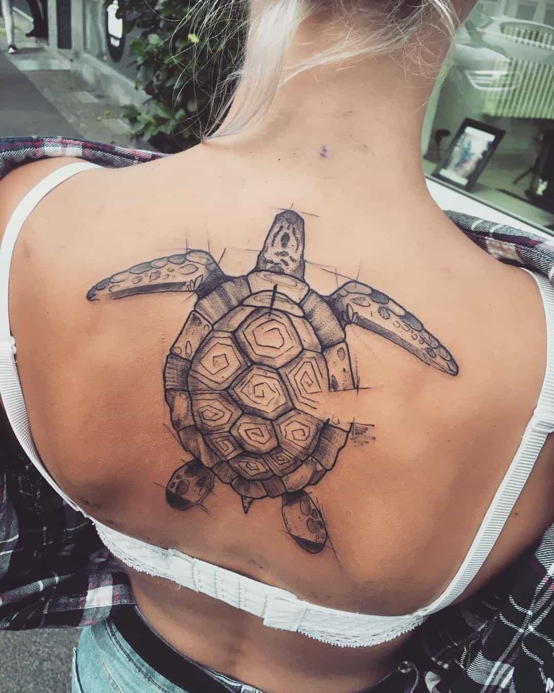 85 best sea turtle tattoo designs amp meanings 2019 - 736×919