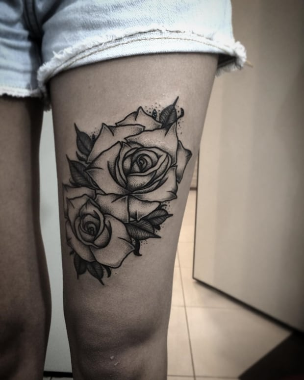 Black-Rose-Tattoo
