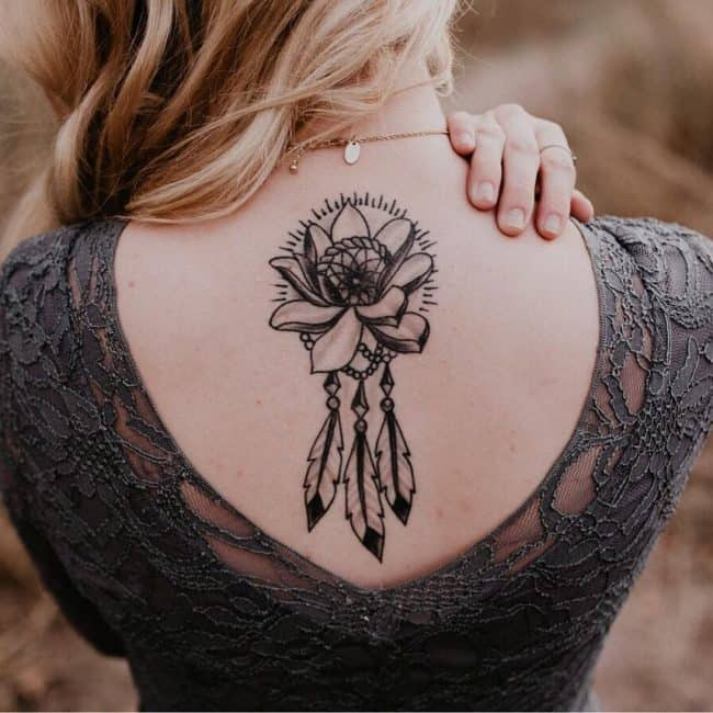 Dreamcatcher-Tattoo