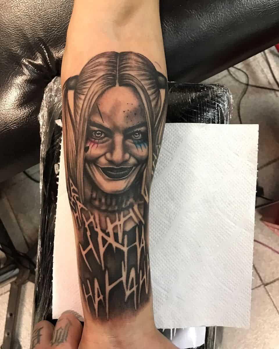 Harley Quinn Tattoo Black Best Tattoo Ideas