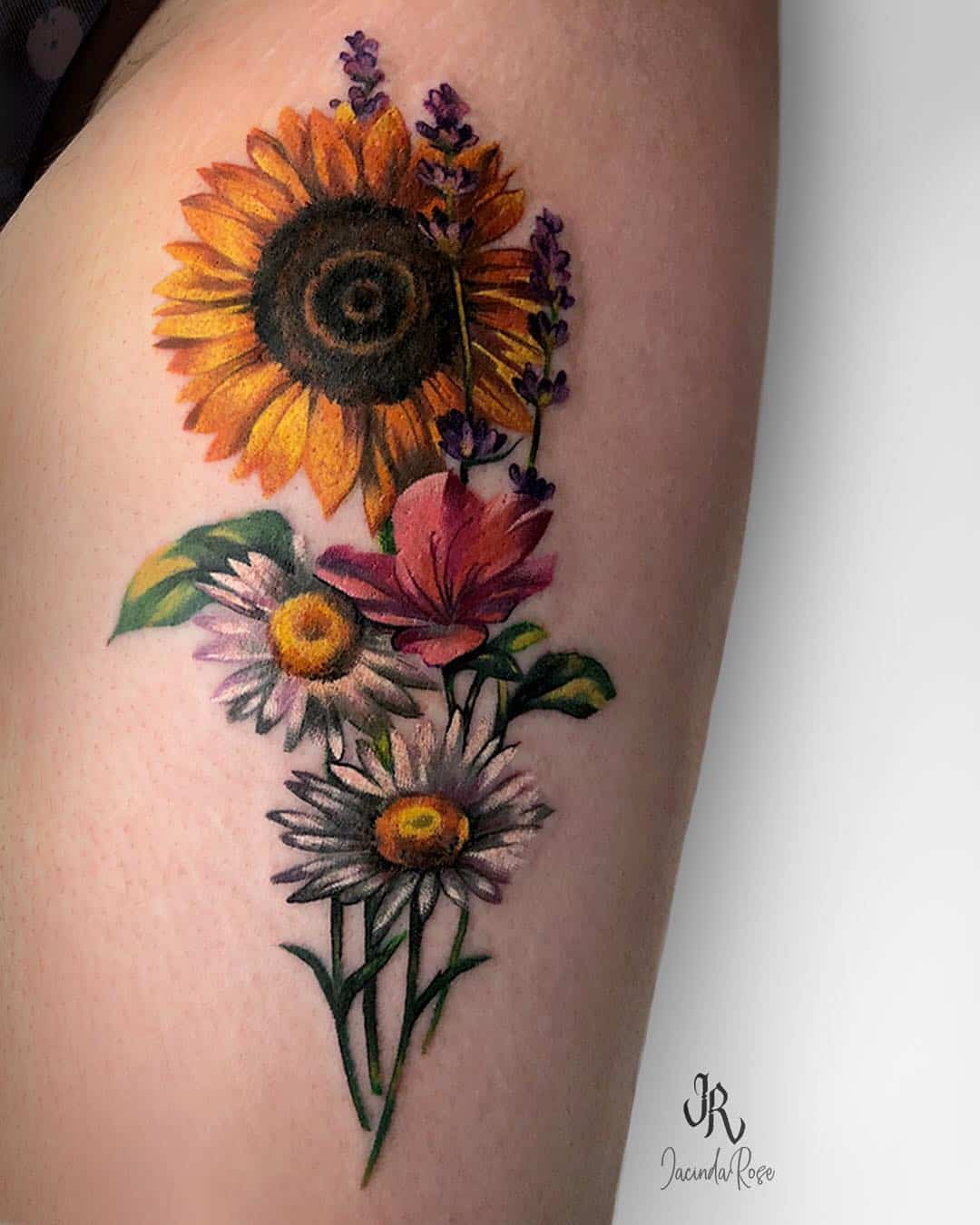 Small Sunflower Tattoo Meaning: 144 Sunflower Tattoos That Will Brighten Up Your Life