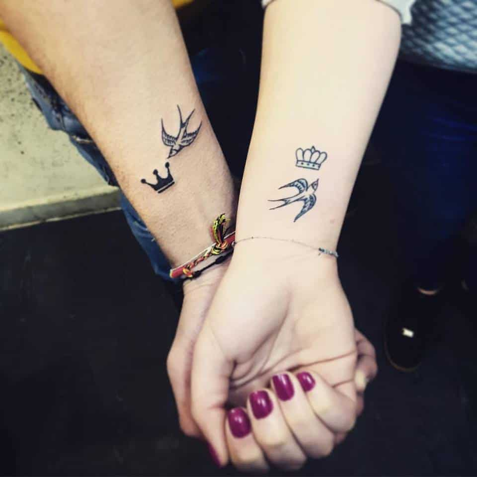 175 Of The Best Couple Tattoo Designs That Will Keep Your