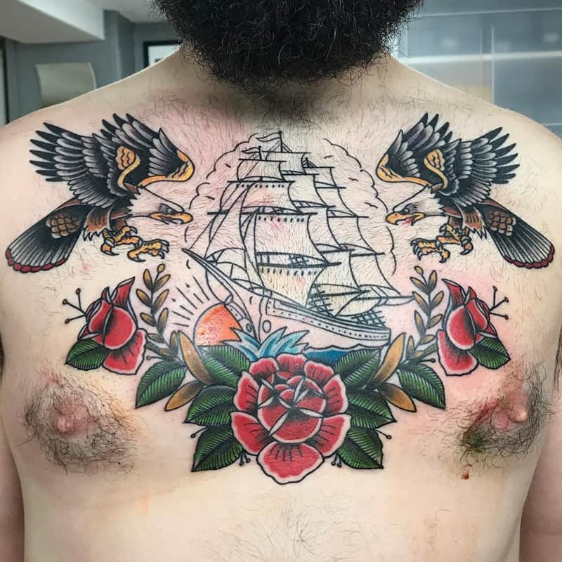125 Incredible Sailor Tattoos And The Meanings Behind Them