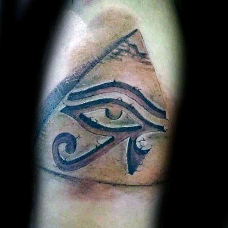 100 One Of A Kind Pyramid Tattoos