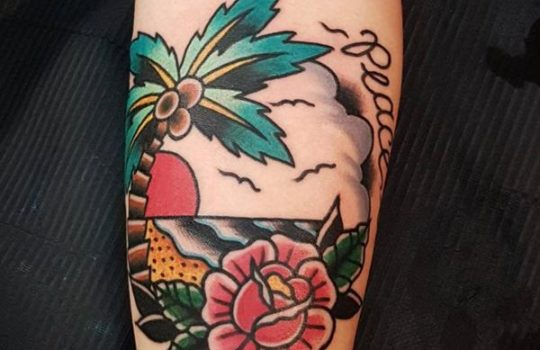 Palm-Tree-Tattoo