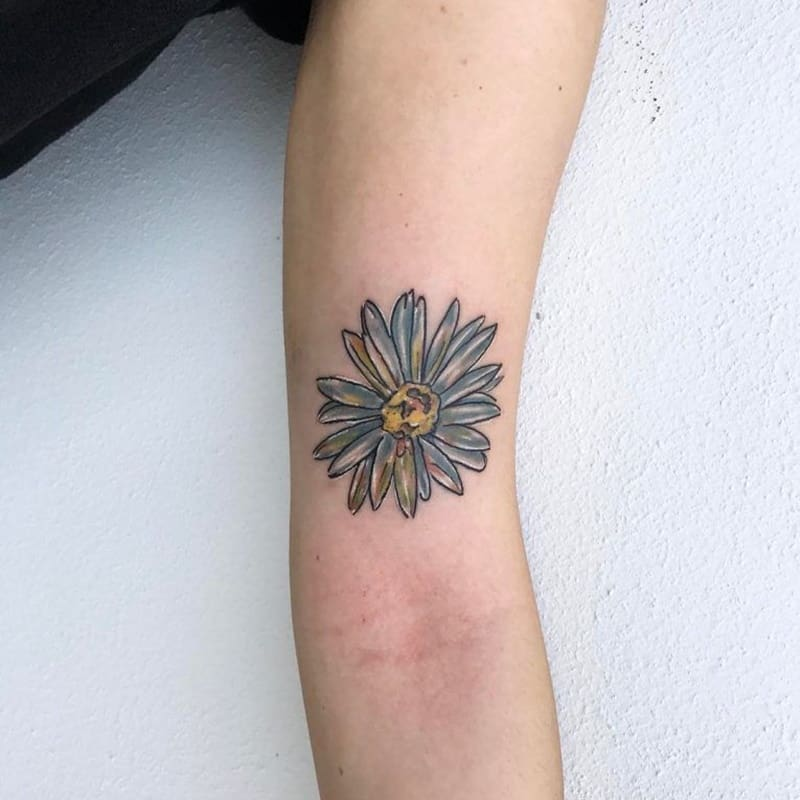 daisy-tattoo