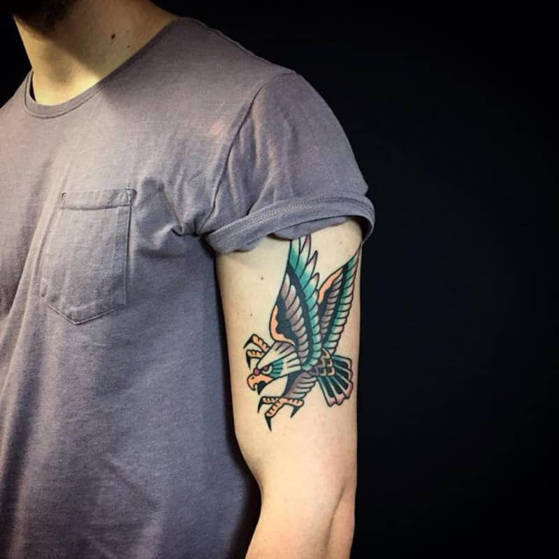 111 Incredible Eagle Tattoo Ideas That Are Soaring High