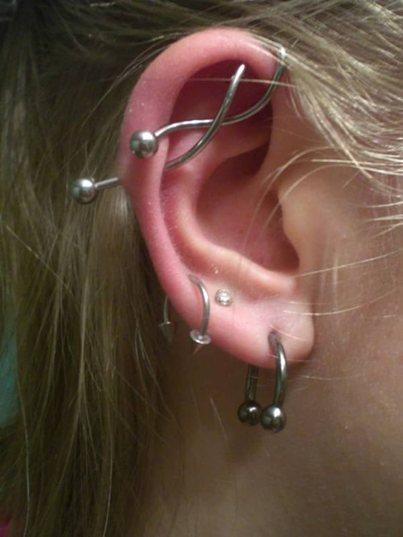 The Ultimate Guide To Getting An Industrial Piercing Tips Photos