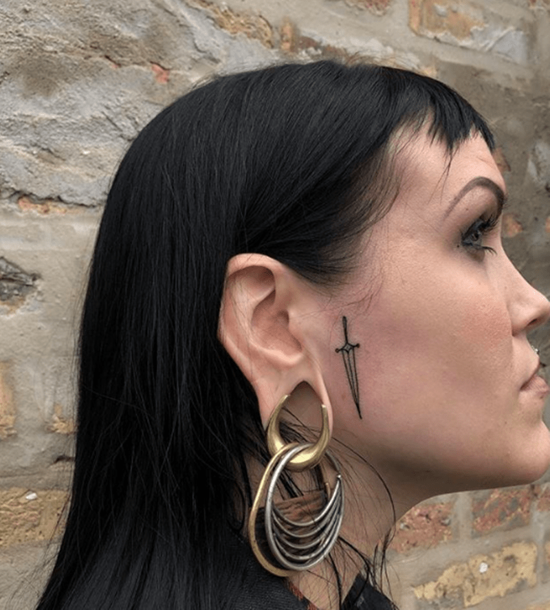 65 Face Tattoos You Should Check Out Before Getting One
